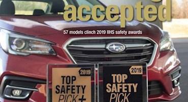 ایمنترین خودروهای 2019 از نظر IIHS