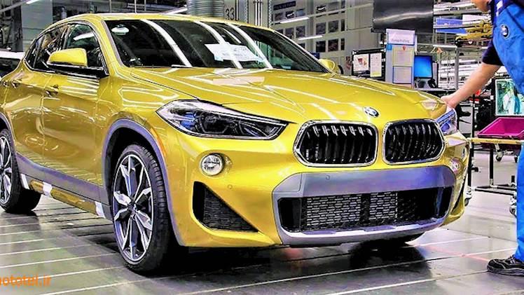 خط تولید BMW X2  - 2018 - رقص ربات ها !