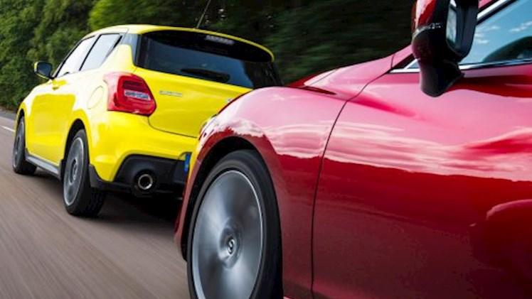 خطرات و استرسهای رانندگی سپر به سپر