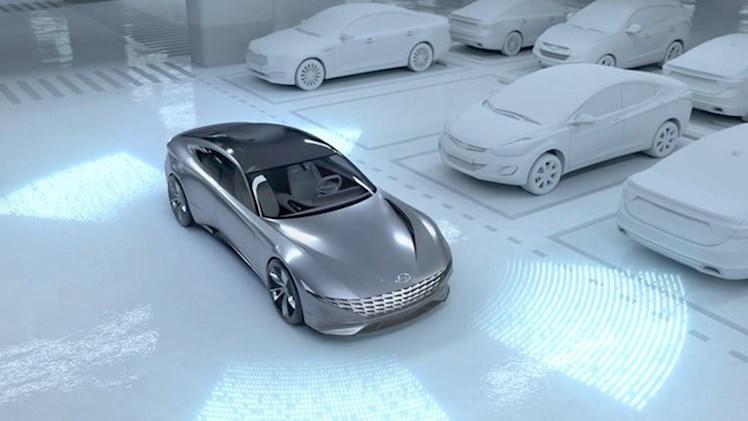 پارکینگ هوشمند و ایستگاه شارژ هیوندای برای فناوری خودران