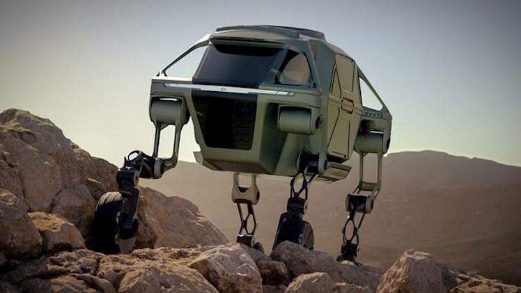 خودروی روباتیک مفهومی هیوندای در نمایشگاه CES 2019 رونمایی شد