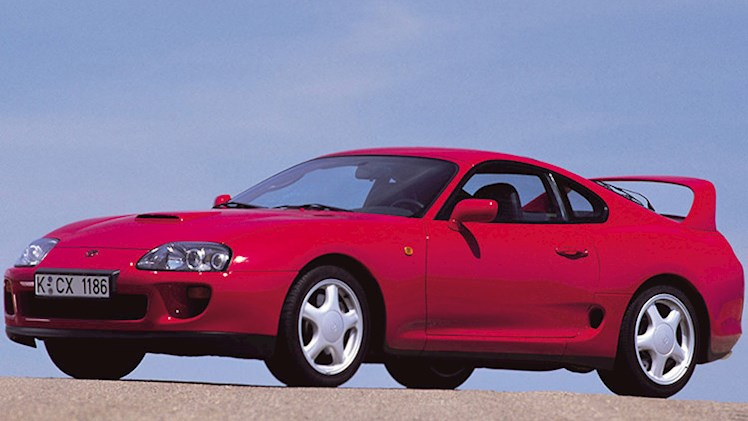 بررسی تویوتا سوپرا مدل ۱۹۹۳ در برنامه جی لنو