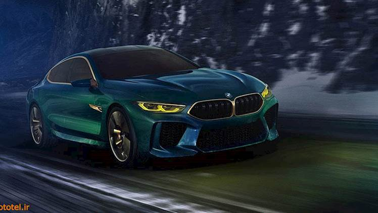 تیزر BMW M8 Gran Coupe - شبیه خون به رقبا !