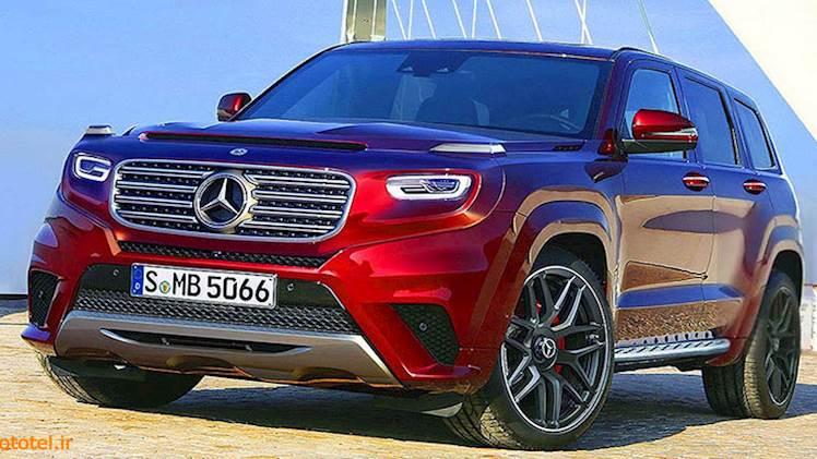 Mercedes GLG 2020 - غول جدید مرسدس!