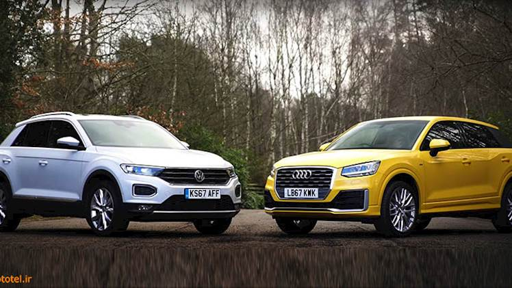 مقایسه VW T-Roc و Audi Q2