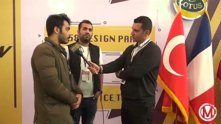 مصاحبه اختصاصی موتوتل با موسسین 458 دیزاین