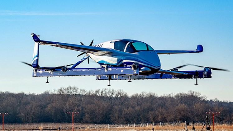 مدل مفهومی خودرو پرنده بوئینگ با موفقیت آزمایش شد