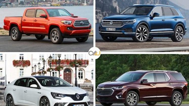 بزرگترین خودروسازان سال 2018، فولکسواگن همچنان در صدر