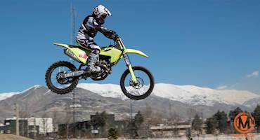 سومین مرحله مسابقات موتورکراس بانوان قهرمانی کشور برگزار شد 97+ عکس