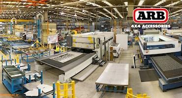 خط تولید سپرهای ای آر بی  ARB