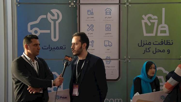 مصاحبه اختصاصی موتوتل با اپلیکیشن پلاک در سومین نمایشگاه بین المللی خودرو