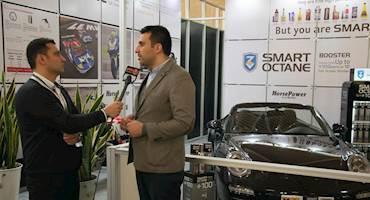 گفتگوی موتوتل با شرکت اسمارت اکتان SMART OCTAN درسومین نمایشگاه بین المللی خودرو