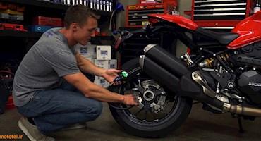 بررسی ایمنی موتورسیکلت!