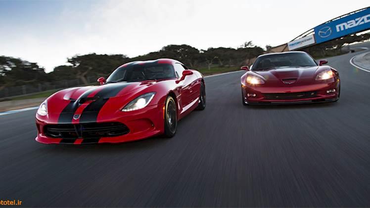 مقایسه Chevrolet Corvette ZR1 با SRT Viper GTS