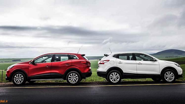 مقایسه Renault Kadjar vs Nissan Qashqai - خواهران ناتنی!